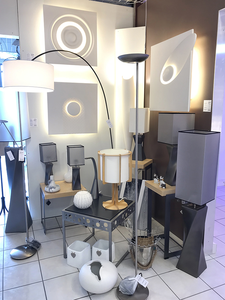 luminaires style architectural