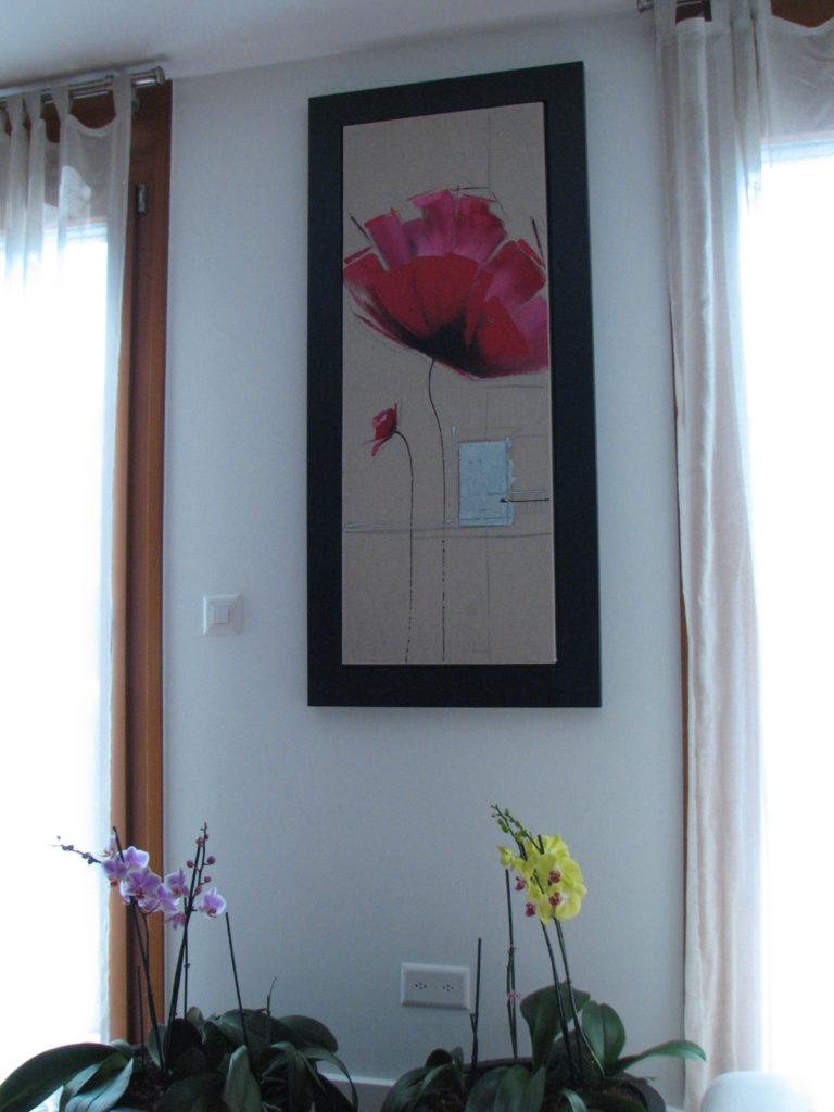 fleur tableau narjoud