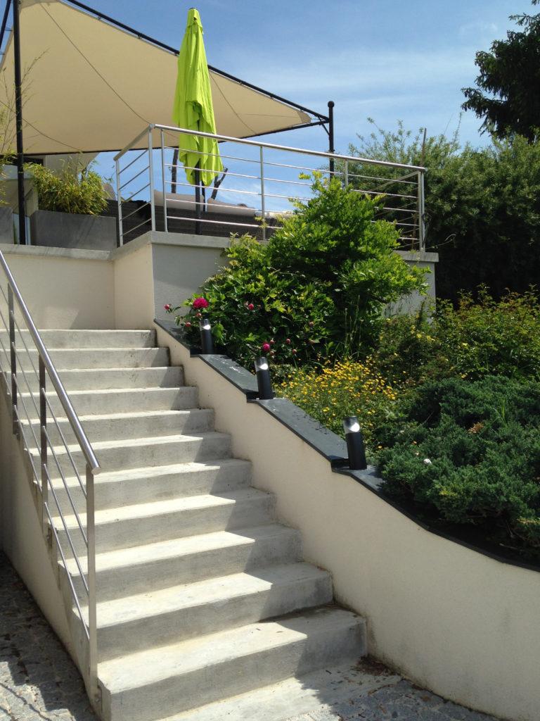 narjoud eclairage escalier