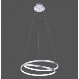 suspensions anneaux gris